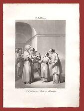 San Valentino Prete e Martire 14 Febbraio Gentilucci Roma 1843