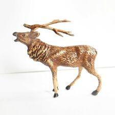 Austrian Cold Painted Stag Deer Figurine Bergman Vienna Bronze
