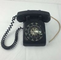 Antique Western Electric BELL Black Phone SYSTEM ROTARY DIAL TELEPHONE