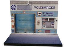 Diorama présentoir Volkswagen - Garage F. Villard - 1/43ème - #43-2-A-A-008