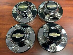 """Chevrolet OEM Center Caps for 15"""" 5 Lug Wheels 1988-1989 K1500"""