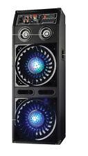 Disco Jam 2 Passive Speaker System, Flashing DJ Lights, Dual 10-Inch Woofers,
