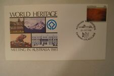 Day Cover - Australia - 1981 - World Heritage Meeting in Australia