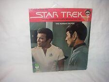 "RARE VINTAGE STAR TREK 7"" 45 RPM RECORD THE HUMAN FACTOR KIRK SPOCK NEW SEALED"