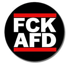 FCK AFD Punk Button Pin NEU 2,5cm Punkrock Oi! Skinhead Gegen Nazis Nazis Raus