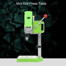 220V 710W Mini Drill Press Table  Workbench Compact Drill Wood Drilling Machine