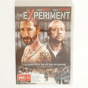 The Experiment Movie Set DVD Region 4 AUS Free Post - Thriller Forest Whitaker