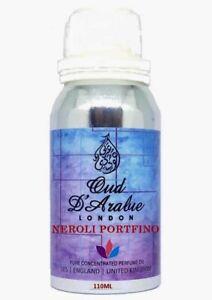 TOM NEROLI PORTOFINO 110ML PURE PERFUME OIL PREMIUM QUALITY ALTERNATIVE LFC