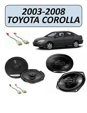 Fits TOYOTA COROLLA 2003-2008 Speaker Replacement Combo Kit, PIONEER