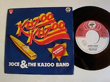 "JOCE & THE KAZOO BAND : Kazoo Kazoo - 7"" 45T 1982 Italian BABY RECORDS BR 50270"