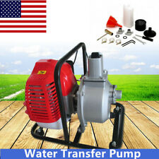 43Cc 2-Stroke Gas Powered Water Pump Water Transfer Pump Engine Air-Cooling Usa