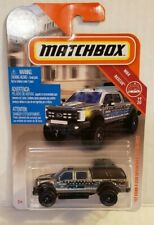 2019 Matchbox 2017 Ford F-350 Super Duty Police Vehicle HTF