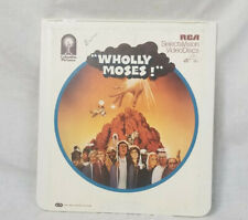 "SelectaVision CED Video Disk ""Wholly Moses!"""