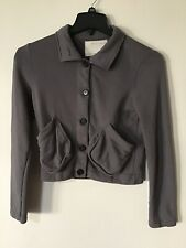Billy Reid Women's Gray Cotton Jacket Size XS Made in Canada
