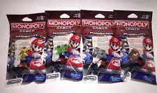NEW Hasbro Monopoly Gamer Mario Kart Board Game Power Pack Figures