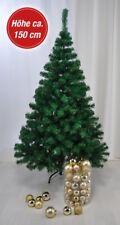 Albero di Natale Artificiale Finto Abete Plastica 1,5m
