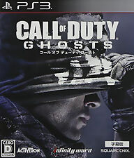 Sony PS3 Call of Duty Ghosts Video Game Intense Epic Destruction COD FPS shooter