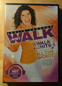 """Leslie Sansone - Just Walk """"Walk to the Hits: All Time Favourites"""" - New Sealed"""