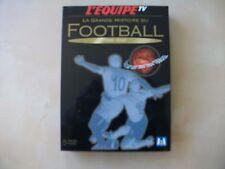 LA GRANDE HISTOIRE DU FOOTBALL 1930-2002 L'Equipe TV Coffret 5 Dvd