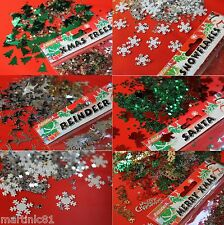 TABLE SCATTER CONFETTI CHRISTMAS SPRINKLE DECORATIONS PARTY TABLEWARE SNOWFLAKES