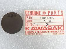 Kawasaki NOS NEW  12037-074 Tappet Shim 3.35T KZ KZ750 LTD CSR 1976-84