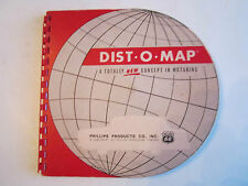 Vintage Phillips 66 Dist-O-Map Travel Planner - Tub Cc