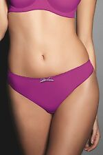 FREYA DECO THONG SIZE S/10-12 LUPIN/PURPLE KNICKERS PANTS 4237 PINK NEW