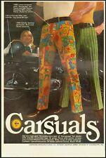 "1970 Vintage ad for Carsuals ""Horoscope"" fun slacks-Carwood Manufacturing 091212"
