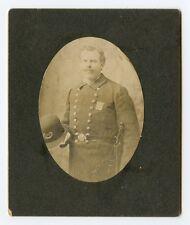 "1890's New York City Policeman Photo with ""Potsie"" Badge"