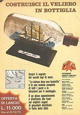 X0422 Costruisci il veliero in bottiglia - Pubblicità 1975 - Vintage advertising