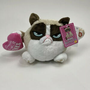 Grumpy Cat Plush Musical Valentine's Day Sings Love Stinks Spins New w/ Tags