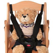 5 Points Harness Ceinture de Voiture pour Bébé Poussettes et Chaise Haute
