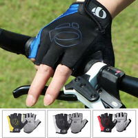 Men Women Windproof MTB Bike Half Finger Outdoor Road Durable Riding Winter M-XL