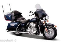 Harley Davidson Modell, 2013 Electra Glide Ultra (33), Maisto Motorrad 1:18