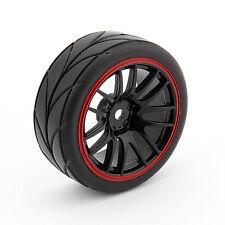 4pcs RC Racing zapato goma Rim EAN HSP HPI 9068-6081 1/10 Audo carretera rueda