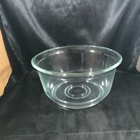 "Vintage General Electric Glass 9-1/2"" Mixing Bowl"