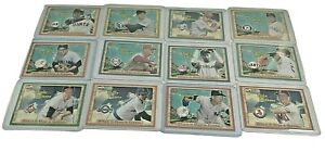 2003 Fleer Ultra When It Was A Game, 12 card lot