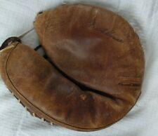 Vtg J.C. Higgins Sears Catchers Mitt Frank House Snap Action 1669 Baseball Glove