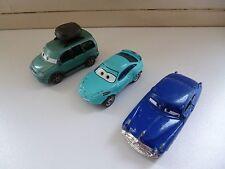 3x Cars Modelcars Disney Pixar