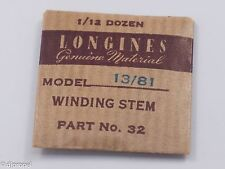 Longines Genuine Material Stem Part 32 for Longines Cal. 13/81