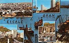 Algeria Escale a Oran multiviews General view Harbour Boats Bateaux Port