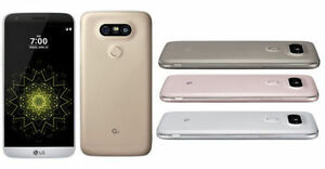 AT&T (ONLY) LG G5 H820 32GB 3G 4G LTE GSM Smartphone Silver/Gold/Gray/Pink USED