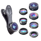Apexel 7 in 1 IPhone Lens Fish Eye Lens Macro Lens and Wide Angle Lens + 6 More