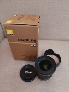 nikon lens 20mm f1.8G ED