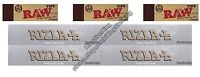 Rizla Kingsize Silver Rolling Papers And Raw Hemp Tips King Size Paper Set