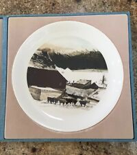 ANDREW WYETH Hand Signed KUERNER FARM Limited Edition Plate NUMBERED 264 Of 275