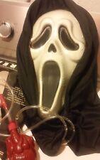 Mask Bleeding - Halloween Scream Fancy Dress Scary Blood Party Hooded Adult