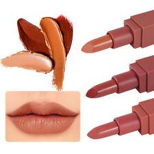 5colors korean nude makeup lasting matte lipstick bullet design lip gloss3C