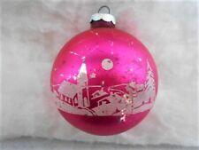 Vintage Christmas Ornaments Shiney Brite and West Germany Ornaments Handpainted Vintage Christmas Purple Pink Aquas Gurley Snowman 3 Angels
