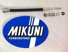 Genuine Mikuni HSR42 HSR45 5 Piece Carburetor Idle Adjuster parts kit (Standard)